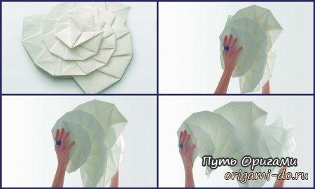 Как сделать из бумаги оригами планету