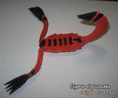 Модульное оригами - скорпион.