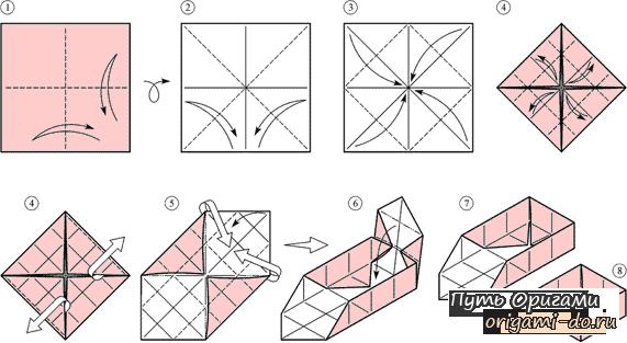 Простые коробочки из бумаги своими руками