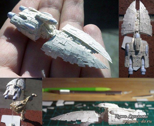 Миниатюрные оригами Дэвида