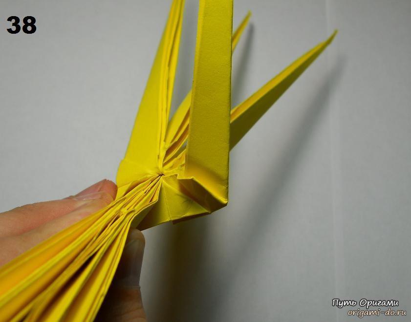 оригами паук видео.