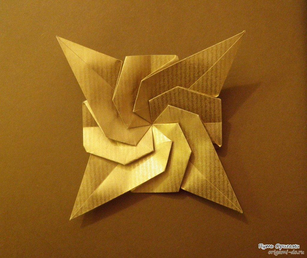 оригами дракона из модулей схема сборки просто