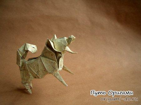Схема оригами по сборке