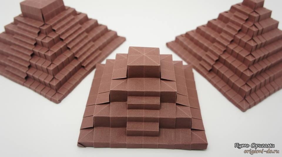 Теперь маленькая египетская пирамида может стоять у вас...  Египетские пирамиды - одно из семи чудес света.