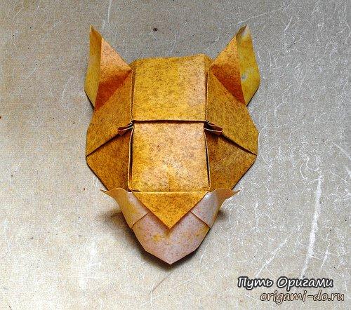 Оригами по схеме Roman Diaz