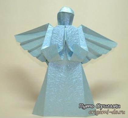 для сборки оригами ангела