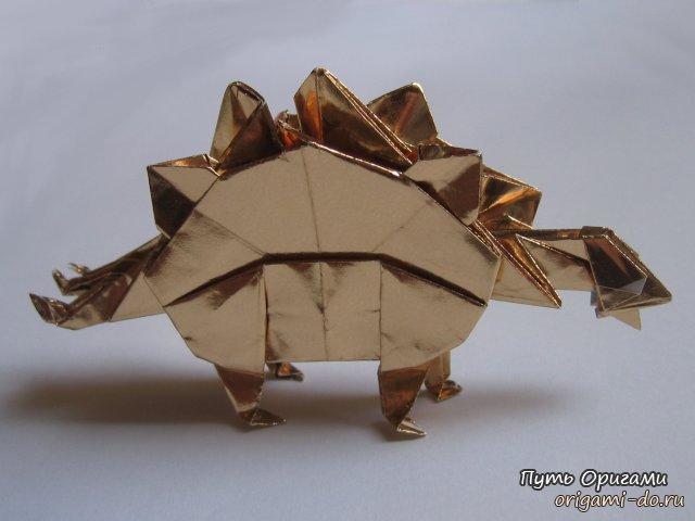 Оригами схема от John Montroll