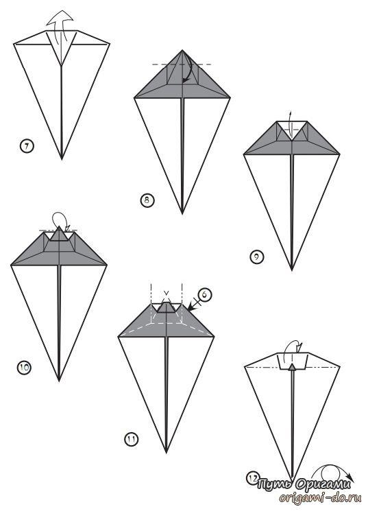 Donachie – оригами мышка