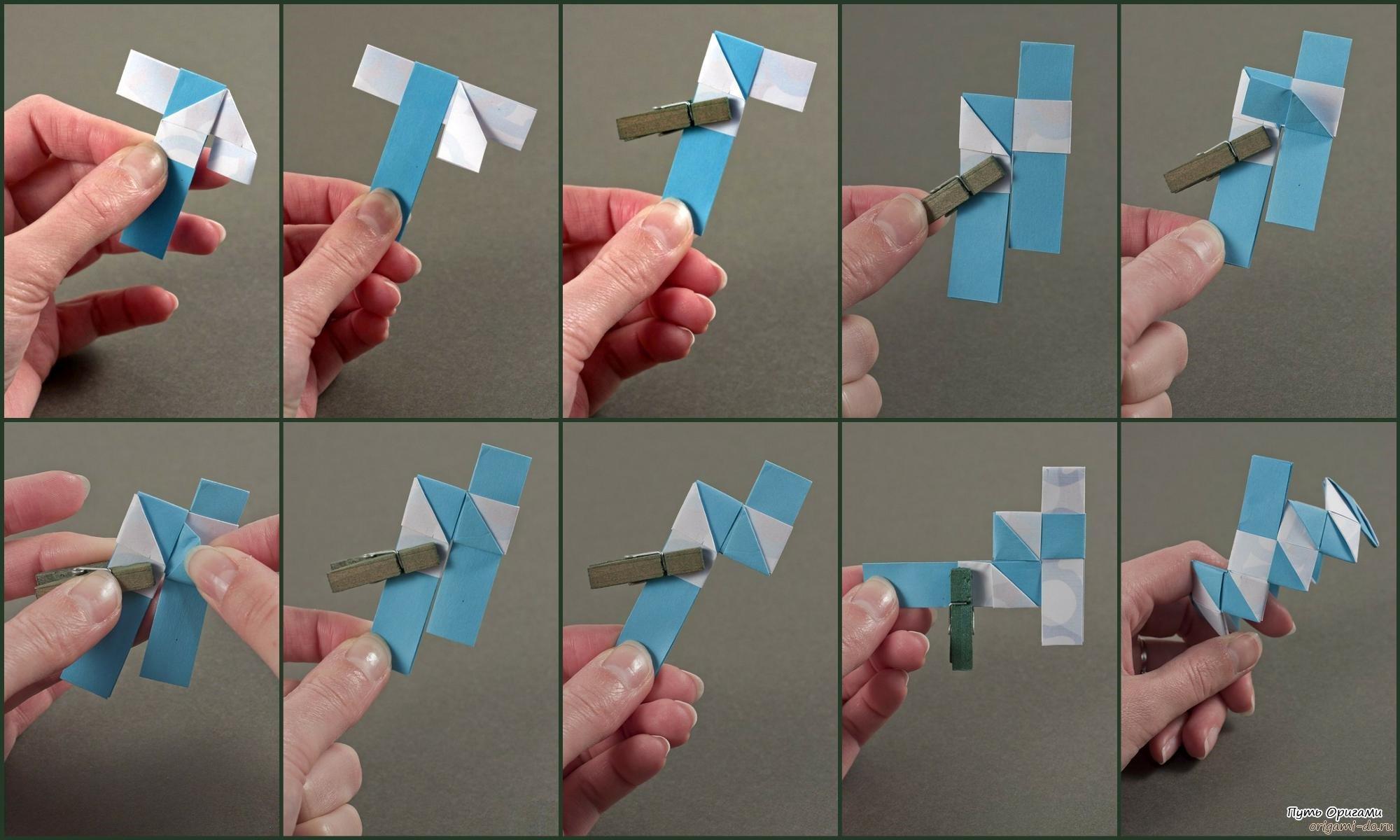Браслет своими руками оригами