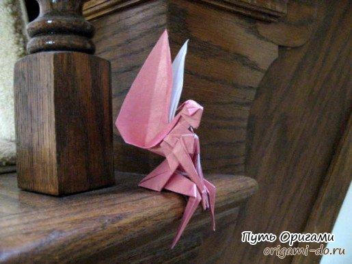 Оригами фея видео — pic 13