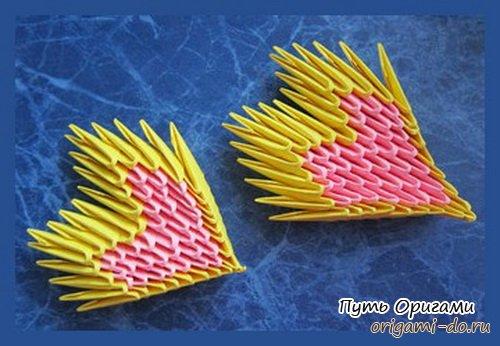 Модульные оригами подарки