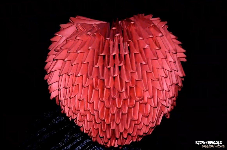 Объемное оригами это