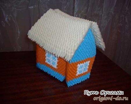 Модульный домик – пошаговая