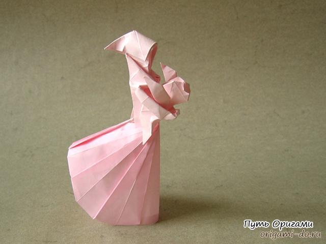 Оригами схема сборки фигуры «
