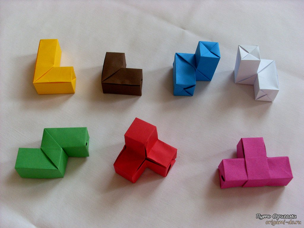 Необычные оригами схема