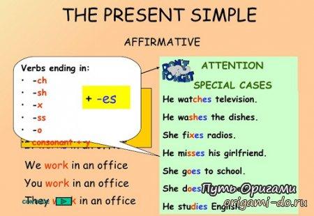 Present Simple и его сложности